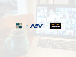 Primer encuentro virtual – CEDU – AEV – Grupo Construya