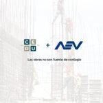 Ante la posible suspensión de la actividad de la construcción, CEDU y AEV se expresan: Las obras no son fuente de contagio